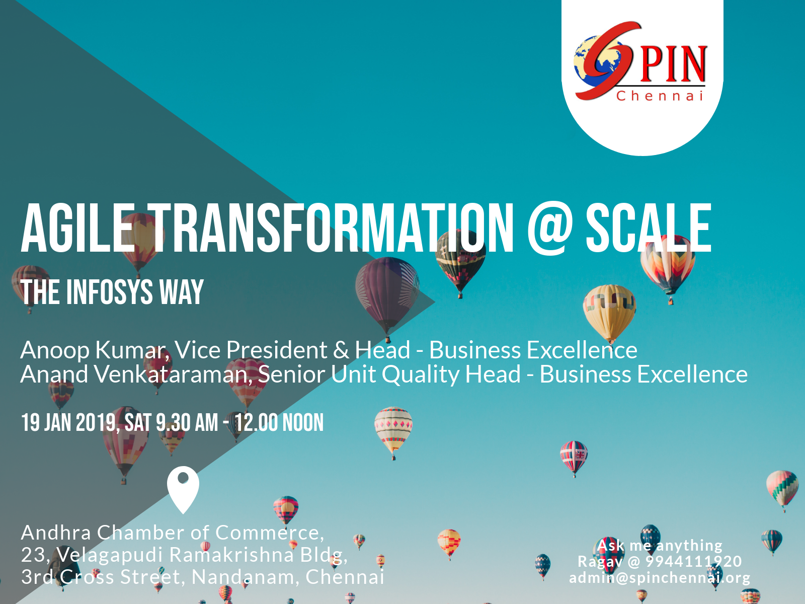 Agile Transformation at Scale - The Infosys Way