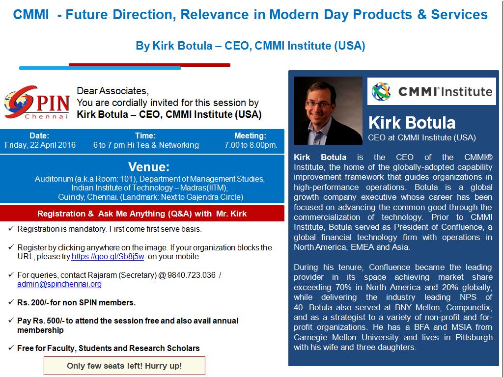 CMMI CEO - Talk -3.0