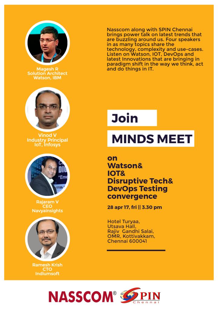 Minds meet SPIN Chennai