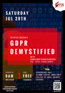 GDPR - DEMYSTIFIED