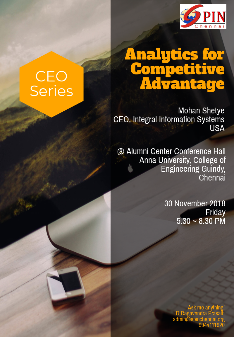 Analytics for Competitive Advantage