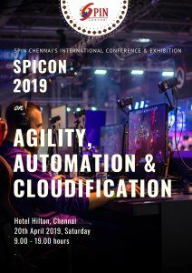SPICON 2019 poster